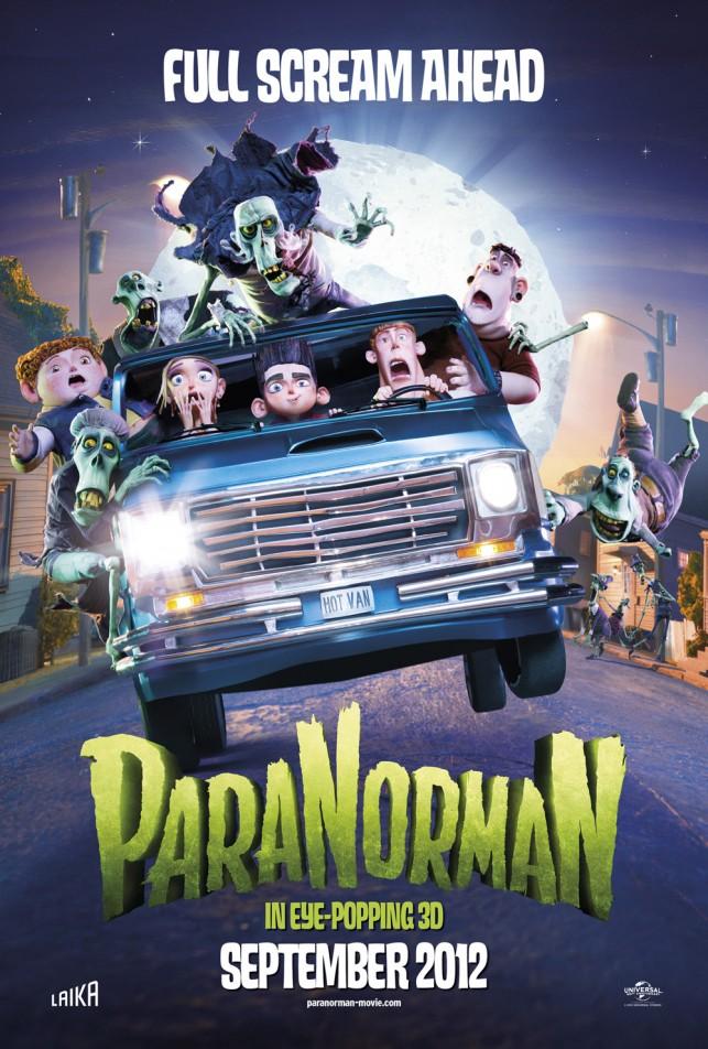 Paranorman 2012 poster