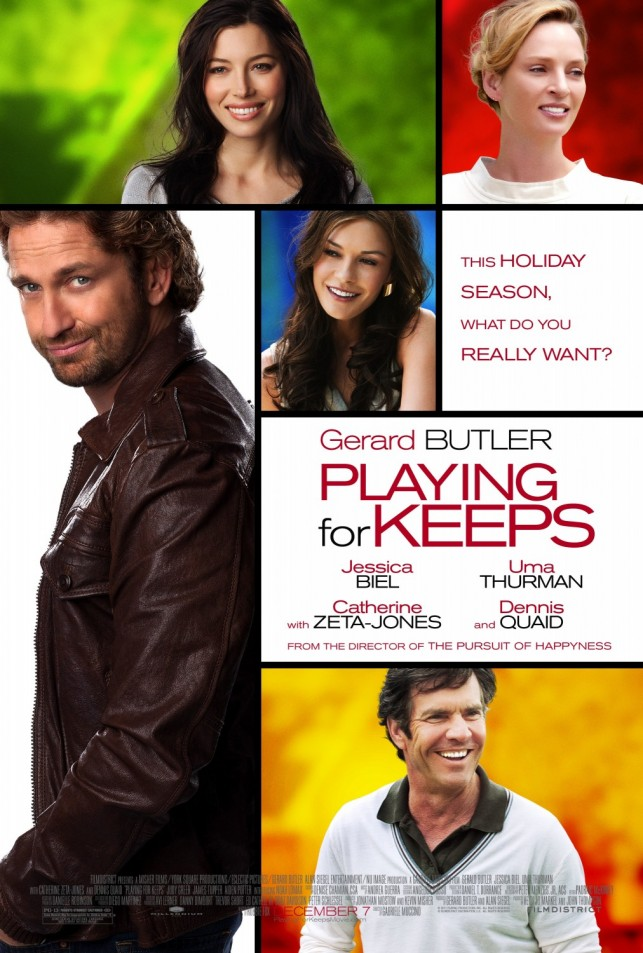 Playing for Keeps 2012 poster