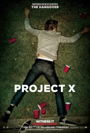 Project X 2012 filmas