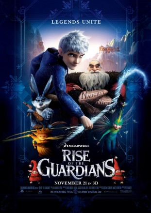 Rise of the Guardians 3D 2012 poster
