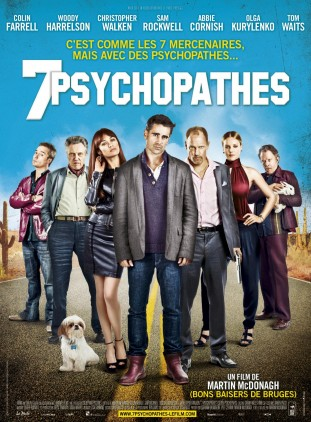 Seven Psychopaths 2012 poster