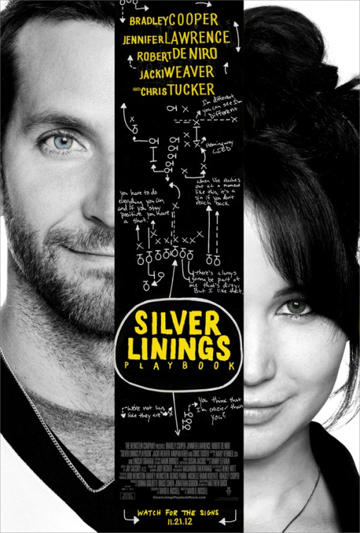 Silver Linings Playbook 2012 poster