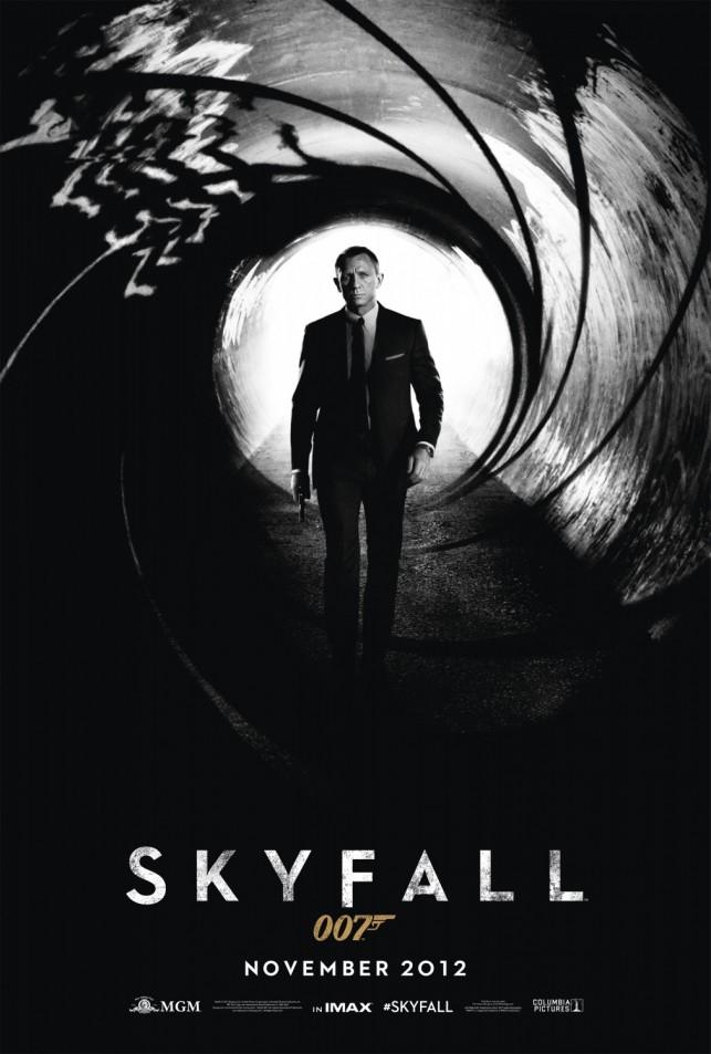 Skyfall 2012 poster