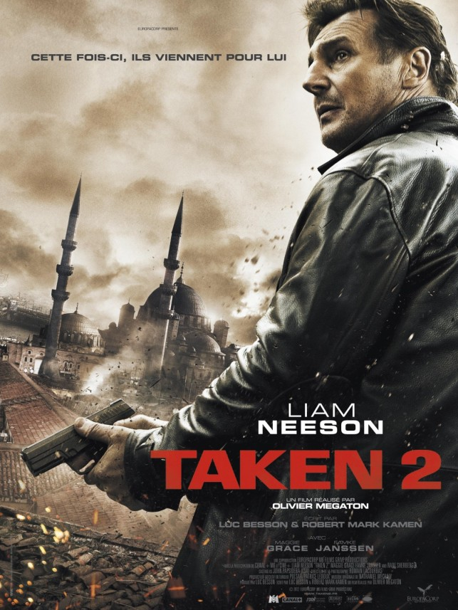 Taken 2 2012 poster
