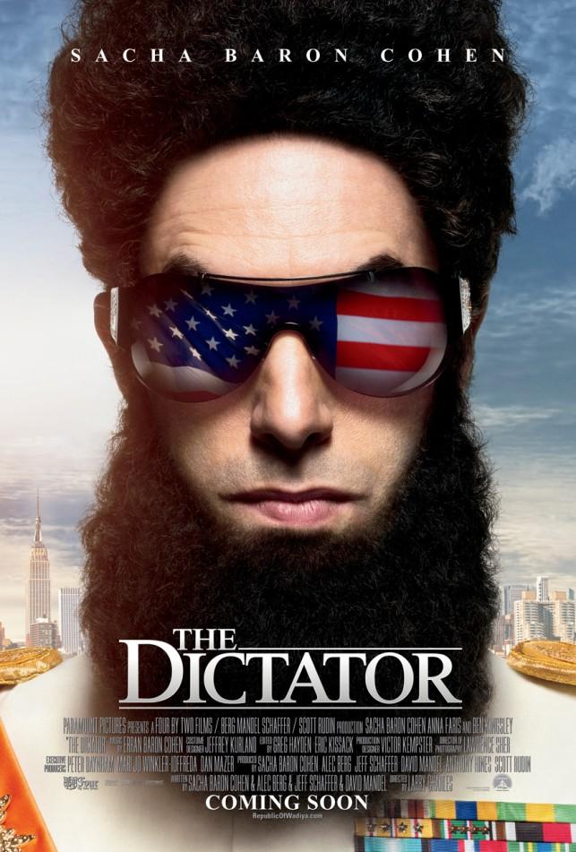 The Dictator 2012 filmas
