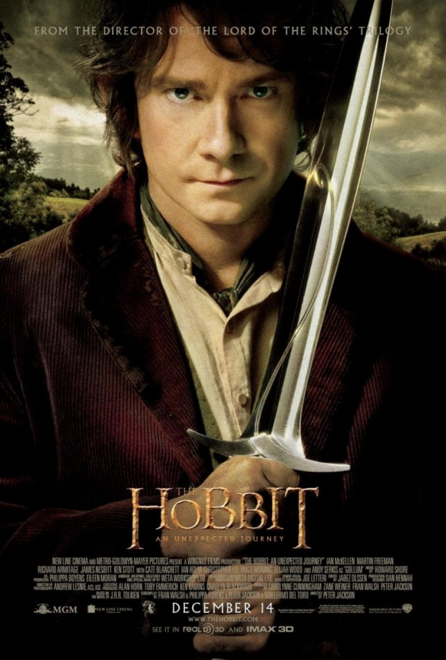 The Hobbit An Unexpected Journey 2012 poster