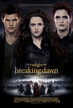 The Twilight Saga Breaking Dawn - Part 2 2012 poster