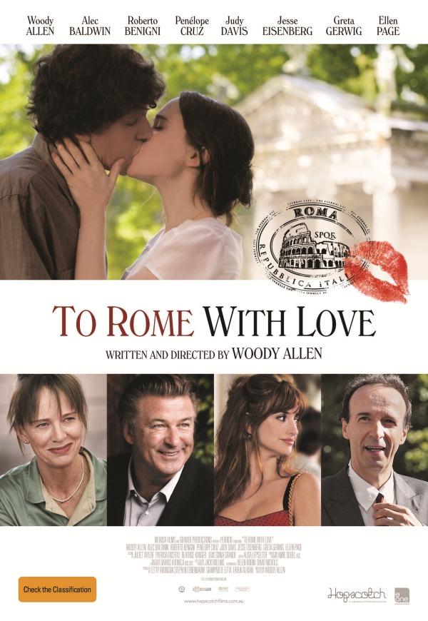 To Rome with Love 2012 filmas