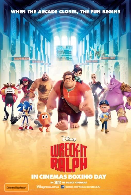 Wreck-It Ralph 2012 poster